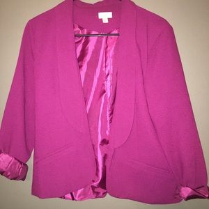 Hot Pink Blazer Decree Medium